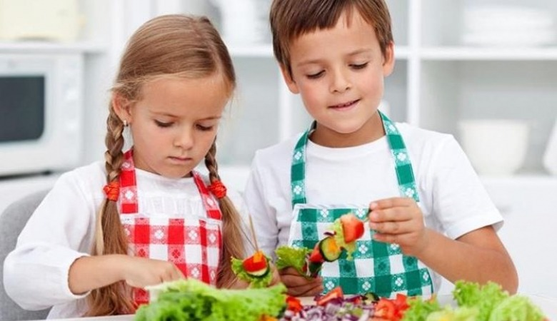 Niños chef