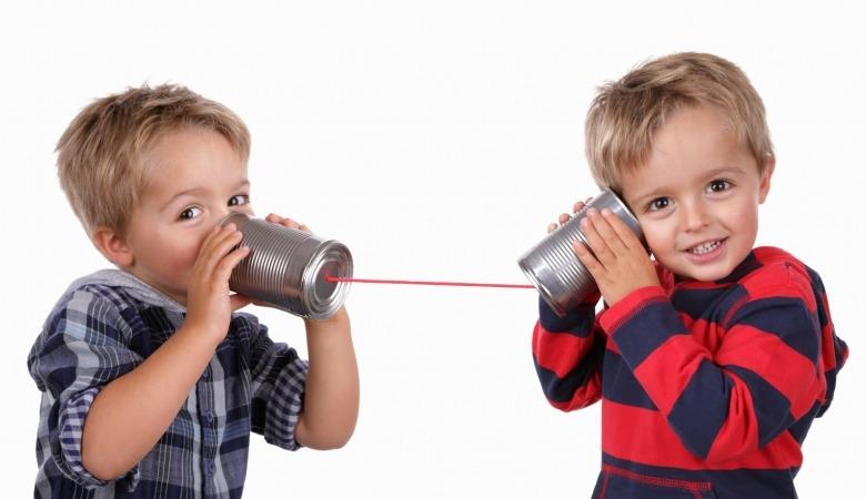 Comunicación entre niños
