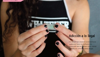 Portada del artículo sobre adicciones
