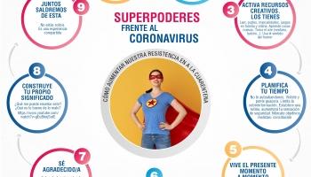 Superpoderes frente al coronavirus