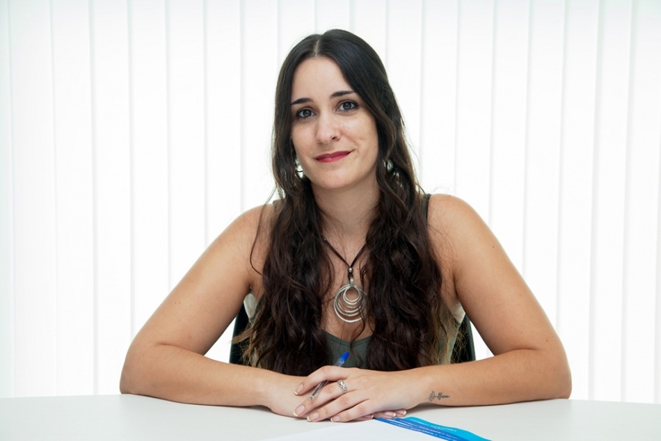 Psicóloga Irene López