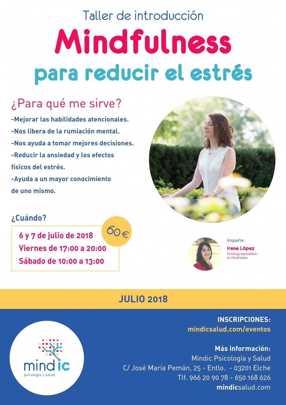 Introducción al Mindfulness para reducir el estrés