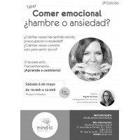 Cartel Comer emocional 2ª Edición