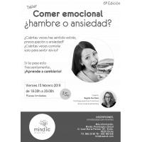 Cartel Comer emocional 6ª Edición