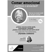 Cartel Comer emocional 5ª Edición