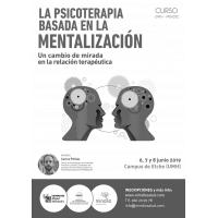 Curso La Psicoterapia basada en la mentalización