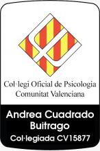 Psicóloga Colegiada Andrea Cuadrado