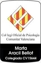 Psicóloga Colegiada Marta Aracil
