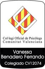 Psicóloga colegiada Vanessa Benadero