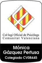 Psicóloga Colegiada Mónica Gázquez