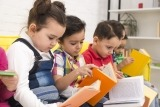 Niños aprender a leer