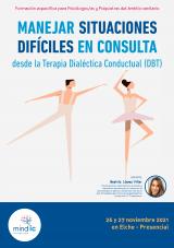 Manejar situaciones difíciles en consulta desde la Terapia Dialéctica Conductual (DBT)